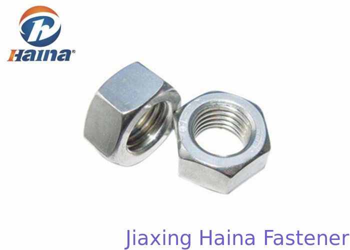 DIN 934 JIS B Stainless Steel 304 / 316 Hexagon Head Nut M2 - M160