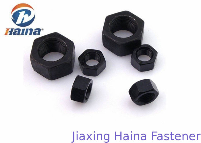 Carbon Steel Gr 8.8 4.8 Black Zinc Plated Hex Head Nuts M10 M12 M14 M16 Diameter
